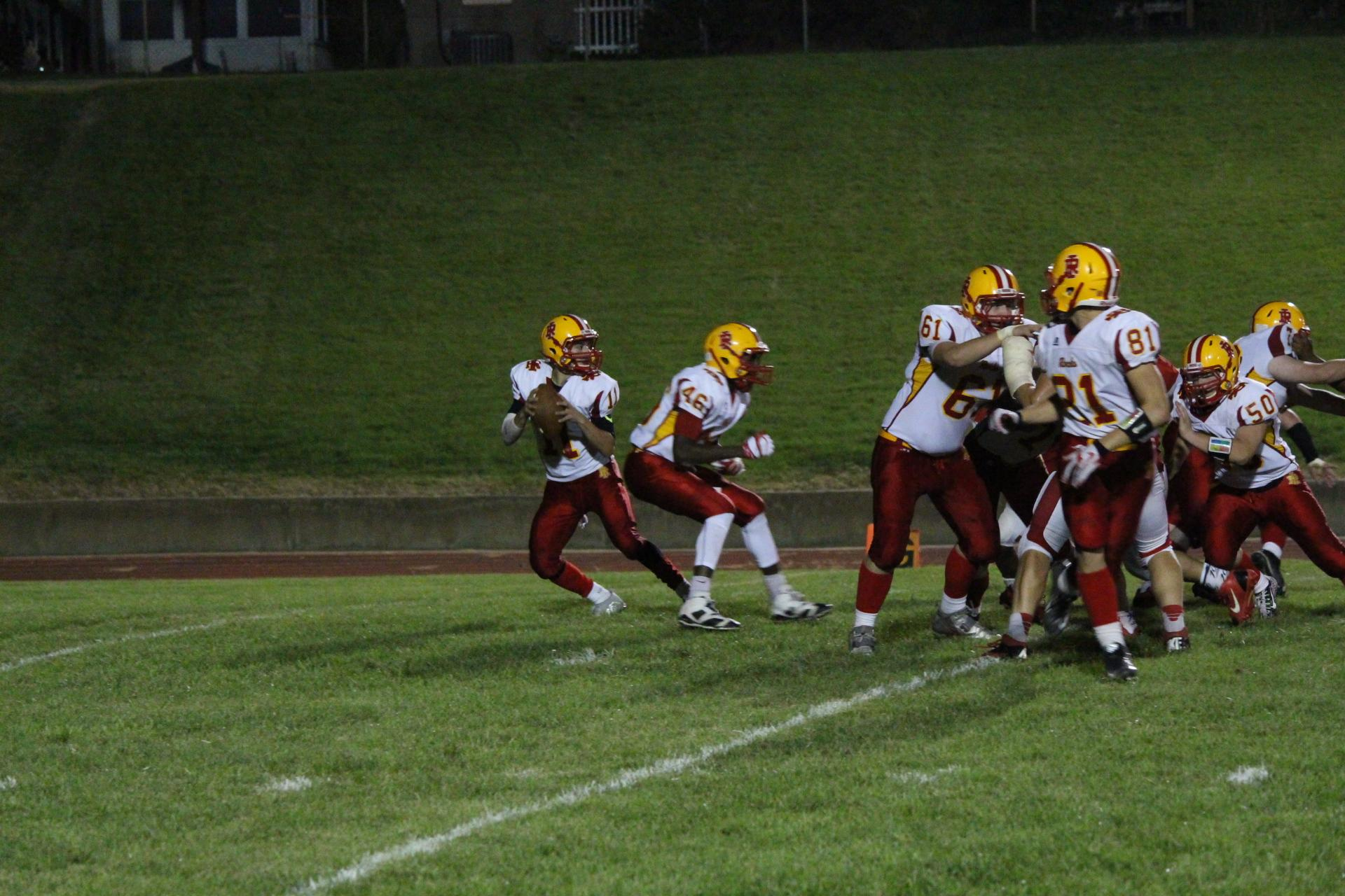 What Was The Score Of The Rock Island Football Game